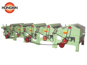 Waste cotton recycling machine