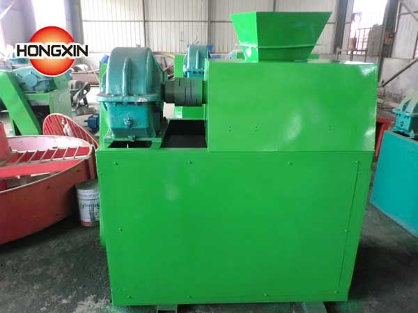 Double roller fertilizer making machine