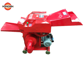 Chaff cutter grain crusher machine