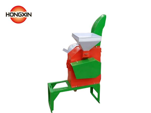 chaff cutting and corn crushing machine