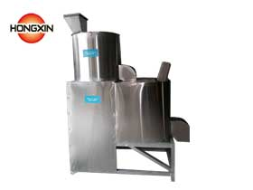 Small model sesame peeling machine