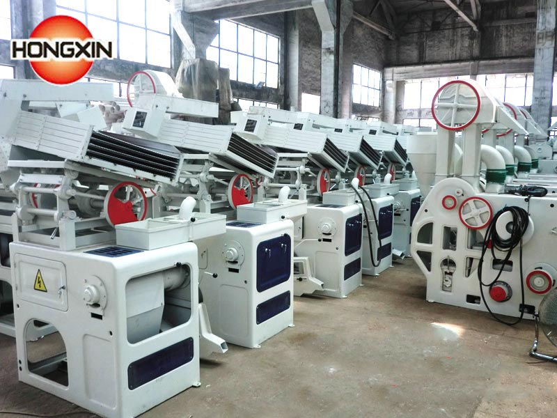Combined rice mill manufacturer